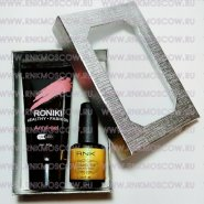 Набор ACRYL-GEL RNK(POLYGEL) 60g+TOP Gold 15ml