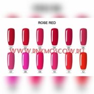 Серия ROSE RED GEL COLOR RNK